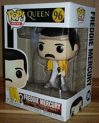 Funko QUEEN Freddie Mercury POP 96 Vinyl Figure Wembley New PRE-ORDER 16/3/2019