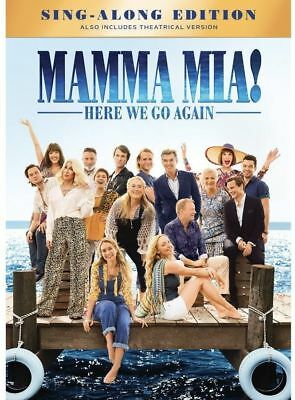 Mamma Mia Here We Go Again Dvd Same Day Shipping