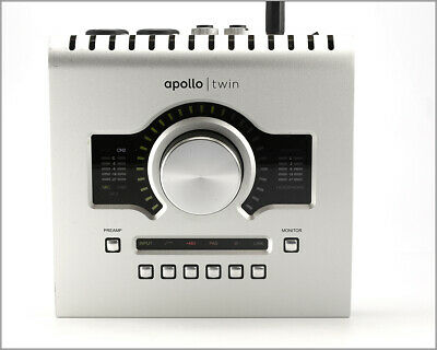 Universal Audio Apollo Twin Solo Core Uad-2 Audio Interface