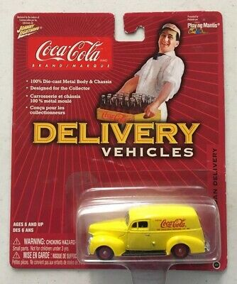 Item:  Coca-Cola 1940 Ford Sedan Delivery 1:64 Die Cast by Playing Mantis