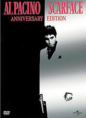 Scarface (DVD, 2003, 2-Disc Full Screen Anniversary Edition) Like New