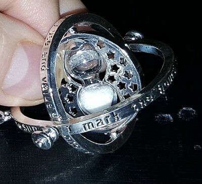 Harry Potter Time Turner Silver Sand Chain Hermione Granger Emma Watson Travel