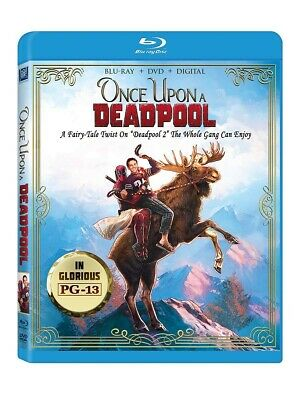 Once Upon A Deadpool Blu-ray + DVD + Digital Brand New