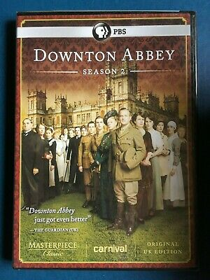 NEW Downton Abbey: Season 2 (DVD, 2012, 3-Disc Set) Sealed