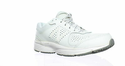 95465be92d5a NEW BALANCE 411 Womens 11   Mens 9 Walking Shoes White Leather ...