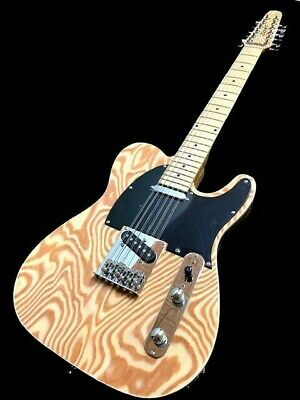 New 6 String Jag Style Offset Body Solid Ash Body Electric Guitar