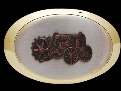 MB07140 REALLY NICE VINTAGE 1970s **FORDSON TRACTOR** BELT BUCKLE