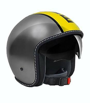 Helm Momo Design Blade Glos Metal Yellow Größe L