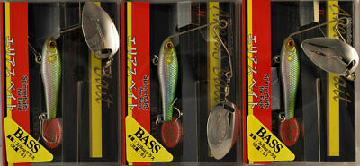 Lucky Craft Area/'s 1//8 oz 2cm 3,5g Spinner Baits Various Colors