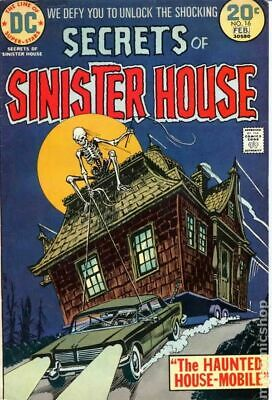 Secrets of Sinister House #16 1974 VG+ 4.5 Stock Image Low Grade