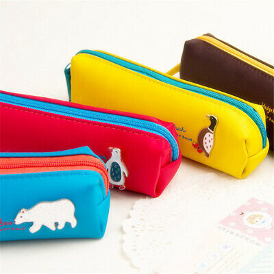 Animal Patteern Bag Pencil Bags Storage Pencil Box Office Supplies Stationery BS