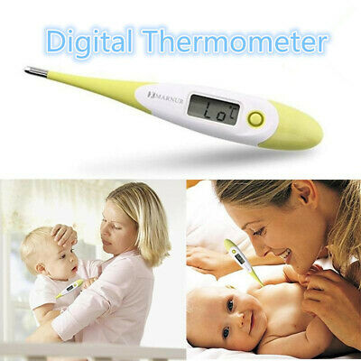 Home LCD Digital Thermometer for Adult Kids Oral or Underarm Body Temperature