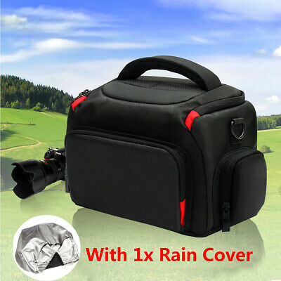 DSLR Waterproof Protective Shoulder Bag Set Carrying Case For Canon Nikon Camera
