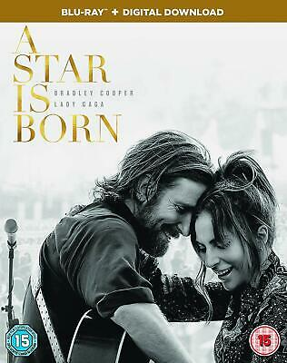 A STAR IS BORN - Bradley Cooper, Lady Gaga - BLU-RAY - NEW