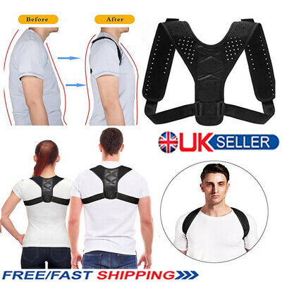 BodyWellness Posture Corrector Adjustable to All Body Sizes UK Free Shipping ct2