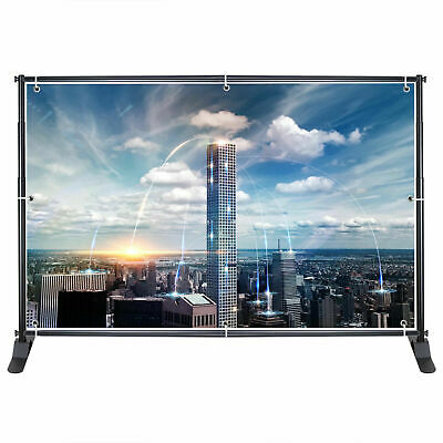 HC Display 10FT Adjustable Telescopic Backdrop Banner Stand Display Trade Show