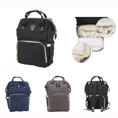 Waterproof Multifunctional Baby Diaper Nappy Backpack Mummy Changing Backpack