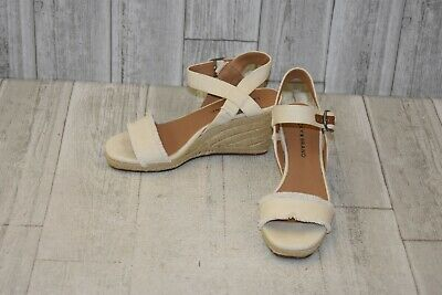 572dad8088b Lucky Brand Marceline Wedge Sandals - Women s Size 6 M - Off White