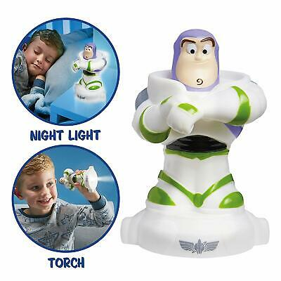 Toy Story 4 Buzz GoGlow Buddy Torch and Night Light NEW
