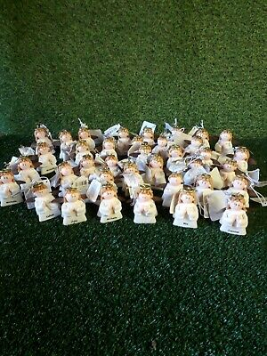 Wholesale joblot christmas decorations 100 russ berrie angels mixed boys & girls