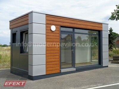 Converted Storage Container, Office, House Summer, Mobile Home