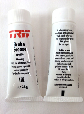 TRW Brake Grease 25g PFG110 For Breake System