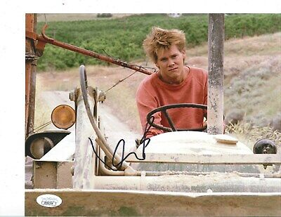"KEVIN BACON ""Footloose"" signed 8x10 photo JSA COA"