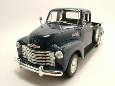 Chevrolet 3100 Pick up 1953 Dark Blue Model Car 1:18 Welly