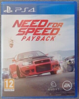 Jeu : Ps4 - Need For Speed : Payback  /  Ea