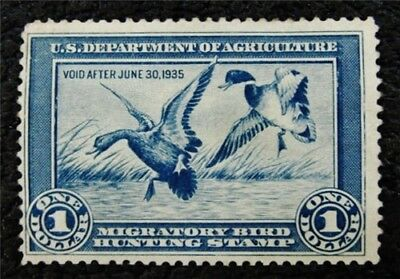 nystamps US Duck Stamp # RW1 Mint $400