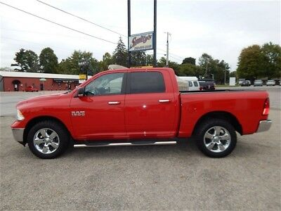 "2015 Ram 1500 Big Horn 2015 Ram 1500 Big Horn 4wd Crew Cab Truck Tow Package Heated Seats 20"" Wheels!!!"