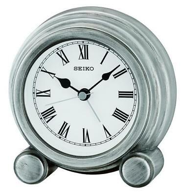 Antique Finish Mantel Clock from SEIKO QXE052S RRP £29.95 Our Price £26.95