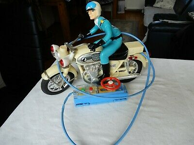bandai police motorcycle sehr selten top