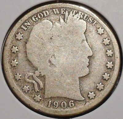 Barber Half - 1906-O - Historic Silver! - $1 Unlimited Shipping