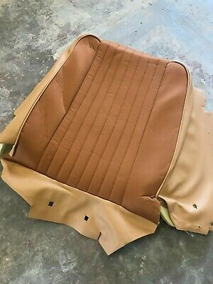 Range Rover Classic 2 & 4  Door Front Seat back Herringbone cover & Foam NEW