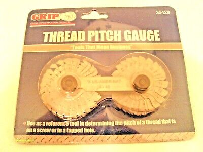 New Metric /& SAE Inch Thread Pitch Gauge 55 Sizes 335428