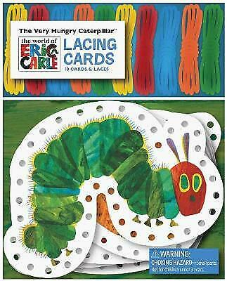 The Very Hungry Caterpillar Lacing Cards - 9781452108193