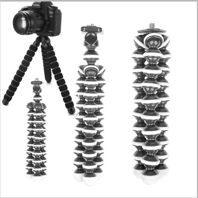 Flexible  Octopus Tripod Stand Gorillapod Holder for GoPro Canon Nikon DSLRs