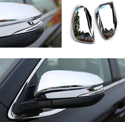 COVERS ABS Chrome Side Mirrors NEW TFP 502 Fits CANYON COLORADO 2004-2012 Y5