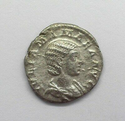 Julia Mamaea Died 235 Ad. Silver Denarius Near Choice Uncirculated