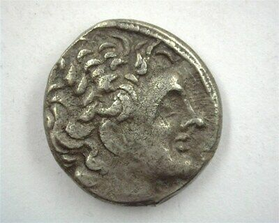 Ptolemy Xii 89-51 Bc. Silver Tetradrachm -Rev Eagle Standing- About Uncirculated