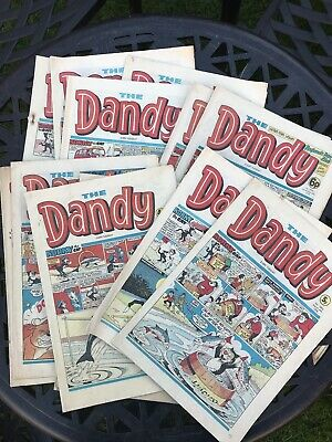 The Dandy Comic x 13 (1977 and 1978)