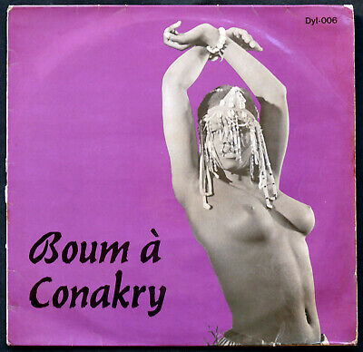 #Boum à Conakry EDITIONS DYL sublime afro rumba Guinea early 1965 ! nude LISTEN#
