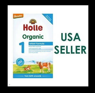 Holle Stage 1 Organic Formula, 0-6 months, 400g 03/2020