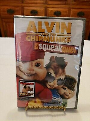 Alvin and the Chipmunks: The Squeakquel (DVD, 2010)(Brand New)