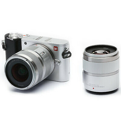 YI M1 4K Video 20 MP Mirrorless Digital Camera with 12-40mm F3.5-5.6 Lens Silver