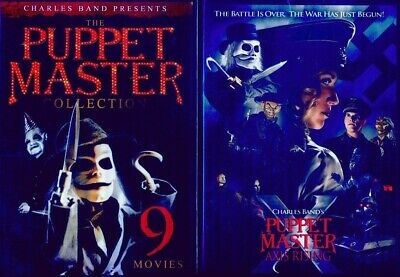 Puppet Master 1 2 3 4 5 6 7 8 9 10 11: Include Axis Rising + Demonico Toys-New