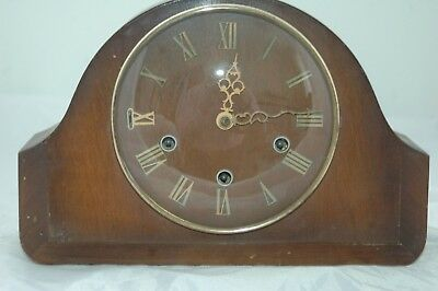 Antique/vintage Smiths Westminster Chimes Mantle Clock.