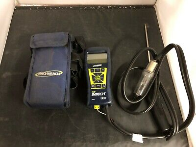 Bacharach Fyrite Intech Combustion Analyzer, O2/CO measurement W/Soft Case