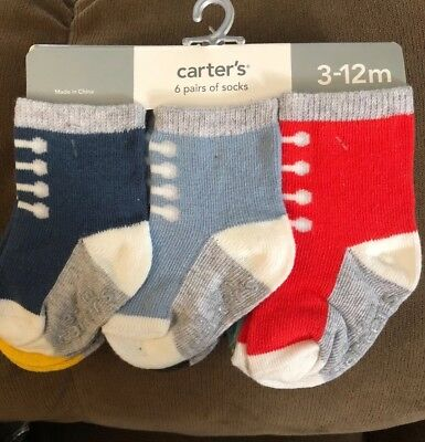 GYMBOREE PELICAN CATCH FISH 2-PAIR OF BOYS SOCKS 0 3 6 12 18 24 NWT